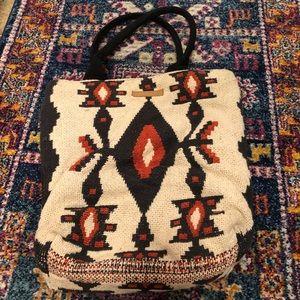 Billabong Aztec White Tweed Laptop Bag
